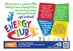 Half page ad promoting Energy Club to schools